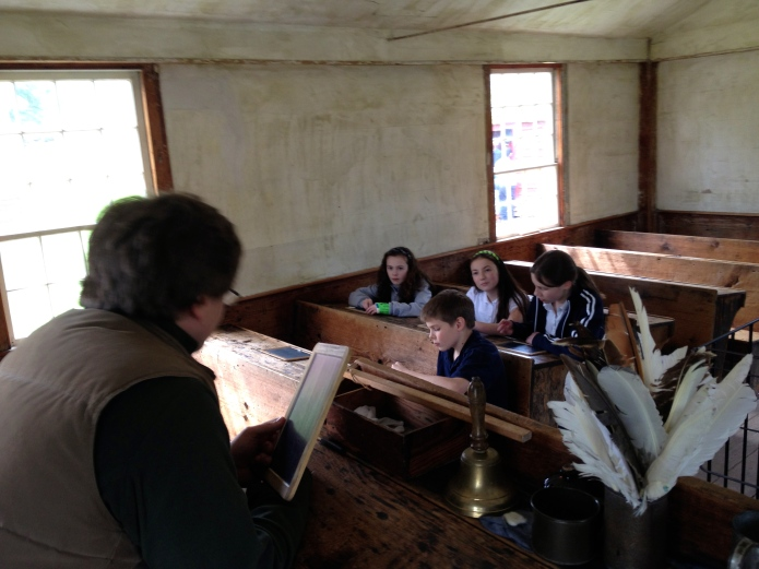 Teaching Geo-Fences in 19th Century Schoolhouse